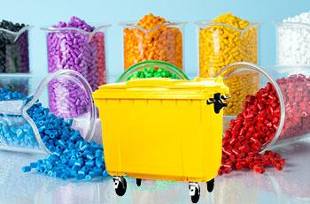 استفاده از مستربچ در محصولات سطل زباله 660 لیتری مکانیزه