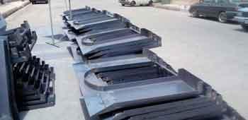 زیر مخزنی سطل زباله گالوانیزه