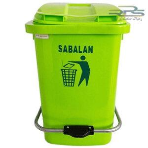 سطل زباله پدالدار 60 لیتری