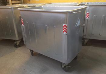 سطل زباله 770 لیتری مکعب پرسی