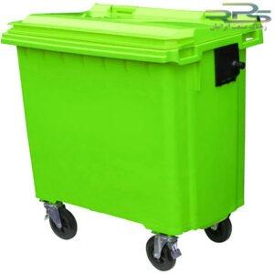 سطل زباله 770 لیتری چهار چرخ