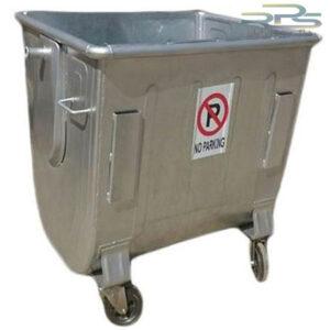 مخزن زباله 660 لیتری گالوانیزه