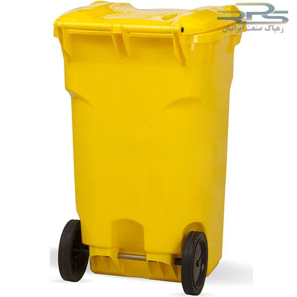 سطل زباله 360 لیتری چرخدار