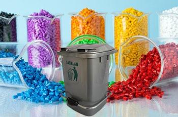 استفاده از مستربچ در محصولات سطل زباله پدالدار 20 لیتری
