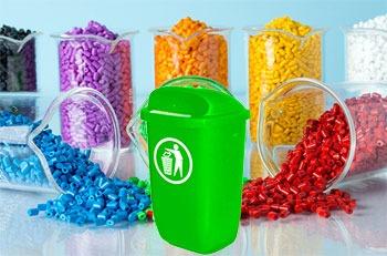 استفاده از مستربچ در محصولات سطل زباله پاندولی پلاستیکی