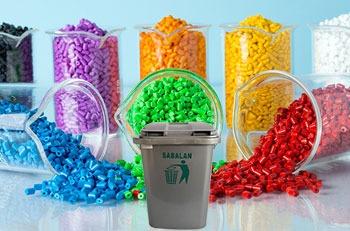 استفاده از مستربچ در محصولات سطل زباله 12 لیتری پلاستیکی