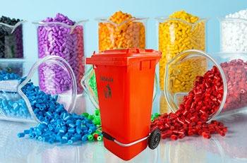 استفاده از مستربچ در محصولات سطل زباله پدالدار 100 لیتری