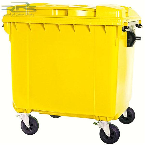 ترالی حمل زباله 660 لیتری