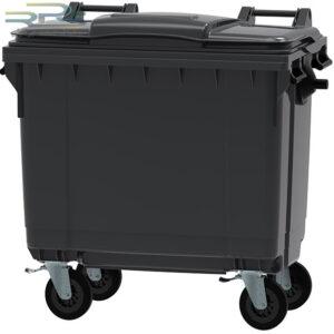 سطل زباله مکانیزه 660 لیتری